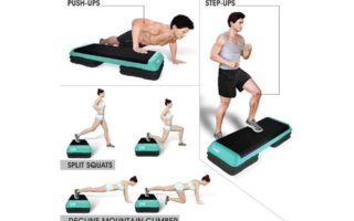Yes4All Adjustable Aerobic Step Platform