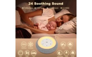 White Noise Machine with Baby Night Light