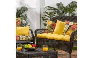 South Pine Porch AM4805-SUNBEAM Solid Sunbeam Yellow