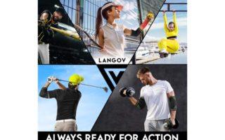 Langov Elbow Brace For Men And Women (Pair)