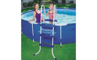 """Bestway 58334E Ladder, 36""""   Made for Above Ground Pools"""