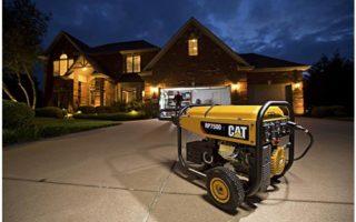 Cat RP7500E Gas Powered Portable Generator