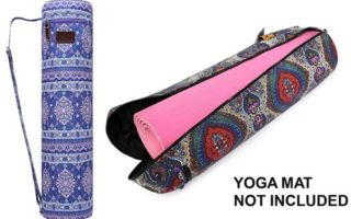 Fremous Yoga Mat Bag,Full-Zip Exercise Yoga Mat Carry Bag