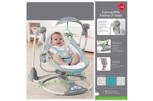 Ingenuity Baby Swing Seat Cover - Velcromag