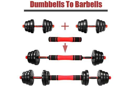 Adjustable Weights Dumbbells Set,Adjustable Dumbbell