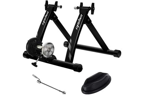 unisky Bike Trainer Stand Indoor Exercise Magnetic Bicycle Training Stand