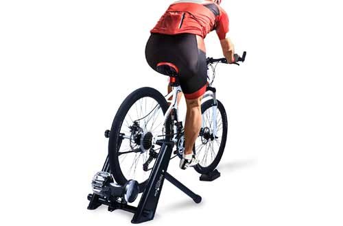 Fluid Bike Trainer Stand, HEALTH LINE PRODUCT Indoor Fluid Bicycle Exercise Trainer