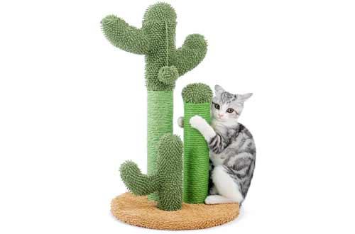 PAWZ Road Cat Scratching Post Cactus Cat Scratcher Featuring