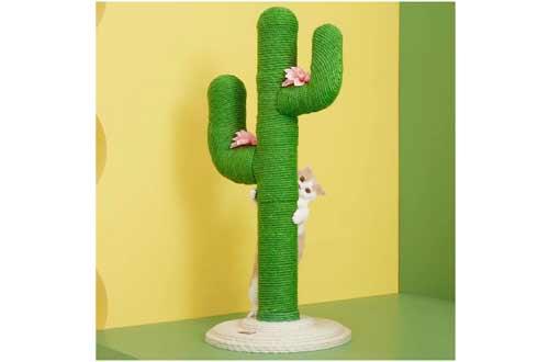VETRESKA Cactus Cat Scratching Post with Sisal Rope