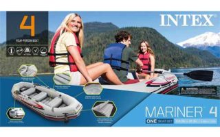 Intex Mariner Inflatable Boat Set Series