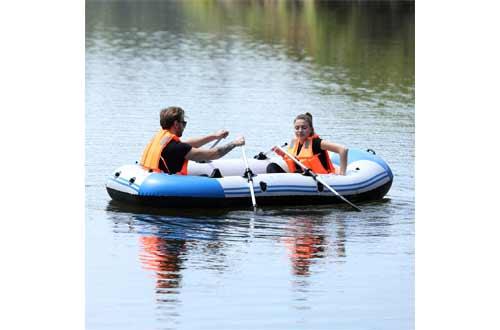 Yocalo Inflatable Boat Series,raft Inflatable Kayak, Fishing Boat Kayak,2,3,4 Person Boat