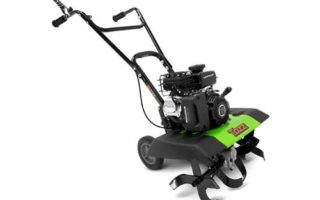 Tazz 35310 2-in-1 Front Tine Tiller/Cultivator, 79cc 4-Cycle Viper Engine