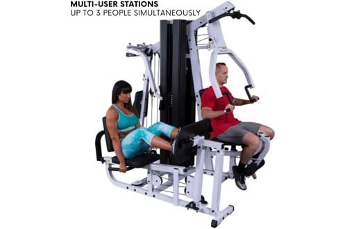 Body-Solid EXM3000LPS Multi-Station Selectorized Gym for Light Commercial and Home Gym