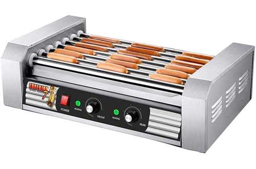 Superior Popcorn Company 82-P288 Superior Popcorn Commercial 18 Hot Dog 7 Roller Grilling Machine