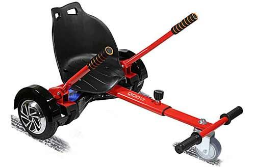 Qoovi Cool Mini Hoverboard Kart Accessories Adjustable
