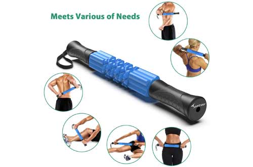 Muscle Roller Stick, Sportneer Handheld EVA Foam Roller