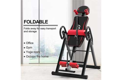 UBOWAY Heavy Duty Inversion Table - with Headrest & Adjustable