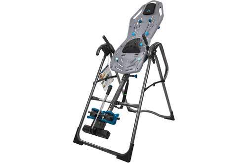 Teeter FitSpine X3 Inversion Table, Deluxe Easy-to-Reach Ankle Lock