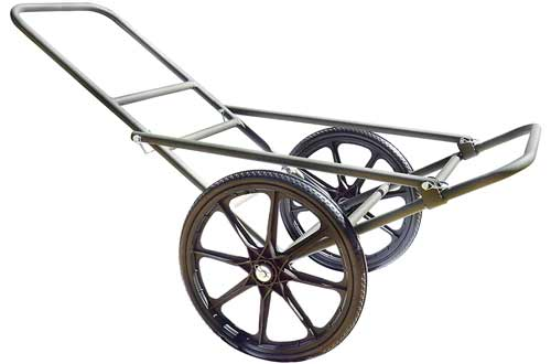 Sherpa Hunting Lightweight Aluminum Game Cart with 19-inch, Flat-Free Wheels