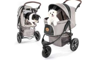 Hauck TOGfit Pet Roadster - Luxury Pet Stroller for Puppy
