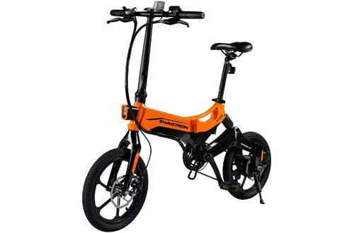 EB7 Elite Plus Folding Electric Bike with Removable Battery & 7-Speed Gear Shift