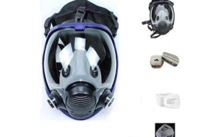 15in1 Full Face Respirator Widely Used in Organic Gas Wide Field of View Full Face