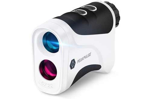 PEAKPULSE Golf Laser Rangefinder with Flag Acquisition