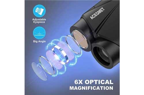 ACEGMET Golf Rangefinder, 650 Yards Range Finder for Golfers