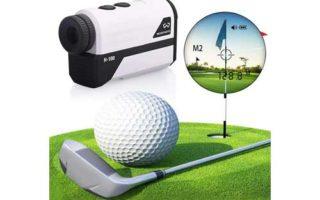 WOSPORTS Golf Rangefinder, 650 Yards Laser Distance Finder with Slope