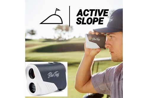 Blue Tees Golf Series 2 Pro Slope Laser Rangefinder for Golf 800 Yards Range - Slope Measurement