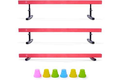Z ZELUS 8ft Balance Beam Gymnastics for Kids