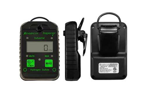 HZXVOGEN Portable Gas Detector Gas Clip 4-Gas Monitor Meter Tester