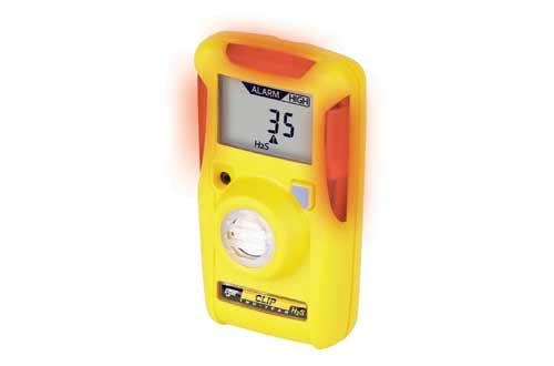 BW Technologies BWC2-H BW Clip Single Gas H2S Monitor, 10/15