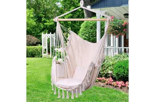 Y- STOP Hammock Chair Hanging Rope Swing