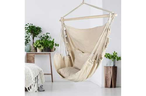 ASTEROUTDOOR Hammock Chair Hanging Rope Swing
