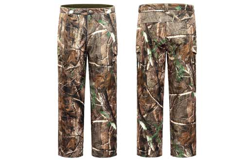 NEW VIEW Hunting Pants for Men Water Resistant Hunting Pant,Camo Hunting Clothes Multiple Pockets Elastic Waistband Pants