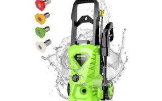 Homdox Electric Pressure Washer, Power Washer with 2500 PSI,1.6GPM