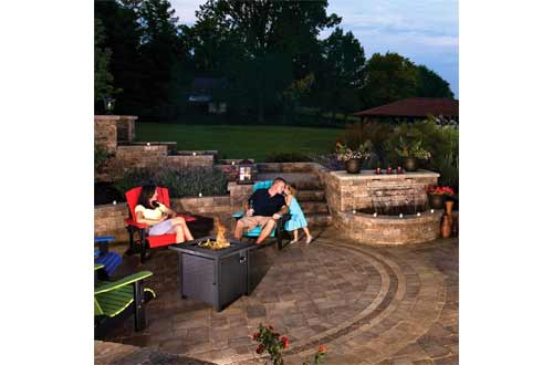 TACKLIFE Propane Fire Pit