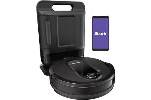 Shark IQ Robot Self-Empty XL RV101AE, Robotic Vacuum, IQ Navigation, Home Mapping, Self-Cleaning Brushroll
