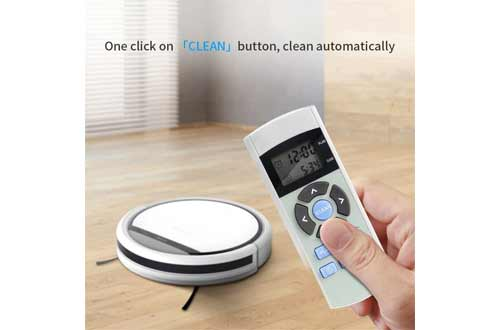 ILIFE V3s Pro Robot Vacuum Cleaner, Tangle-free Suction , Slim, Automatic Self-Charging Robotic Vacuum Cleaner