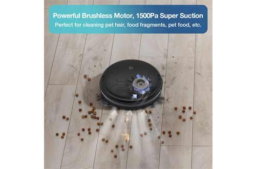 yeedi k600 Robot Vacuum Cleaner with Turbo Mode Suction Up to 1500Pa