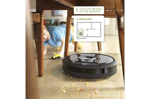 iRobot Roomba i7+ (7550) Robot Vacuum with Automatic Dirt Disposal-Empties Itself