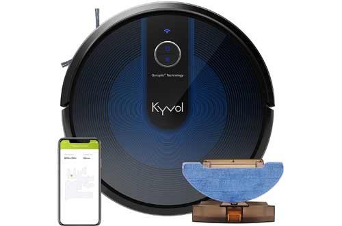 Kyvol Cybovac E31 Robot Vacuum, Sweeping & Mopping Robot Vacuum Cleaner with 2200Pa Suction