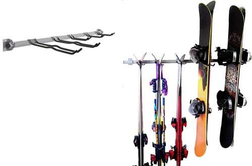 Monkey Bar Storage Ski and Snowboard Rack