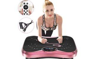 NIMTO Vibration Plate Exercise Machine Whole Body Workout Vibration Fitness