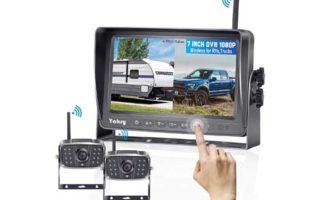 Yakry Y28 FHD 1080P Digital Wireless 2 Backup Camera for RVs